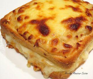 Recetas Monsieur Cuisine: Croque Monsieur