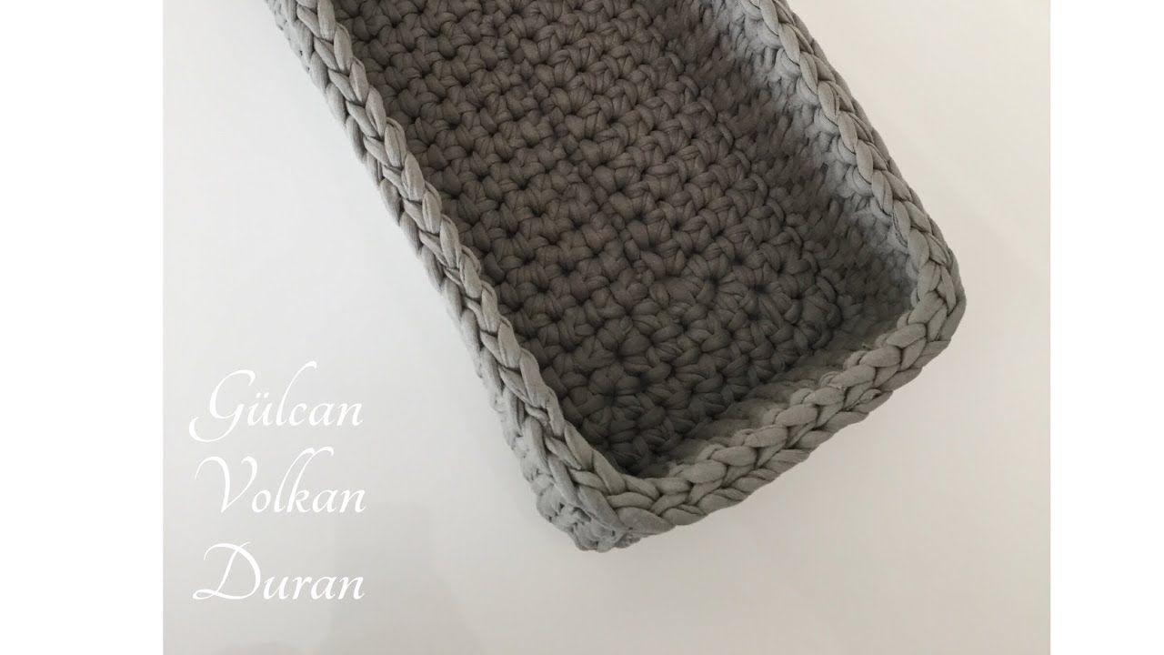 Amigurumi Askılı Sepet Tarifi   Sepetler, Amigurumi, Moda   720x1280