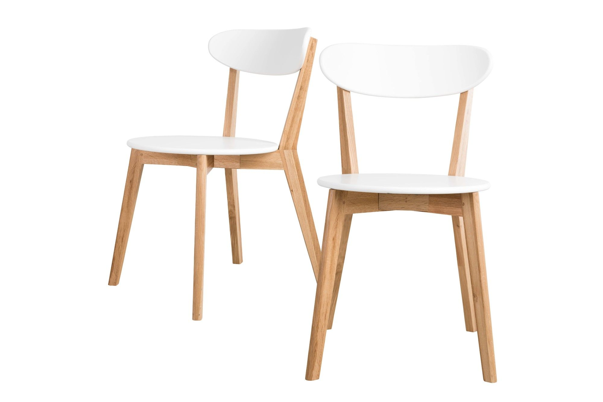 Oslo Dining Chairs Set Of 2 Dining Chairs White Dining Chairs
