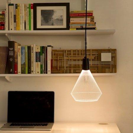 Bulbing Lampe Flad Lampe Med 3d Effekt Fra Studio Cheha Geo I 2020 Lampe Lamper Design