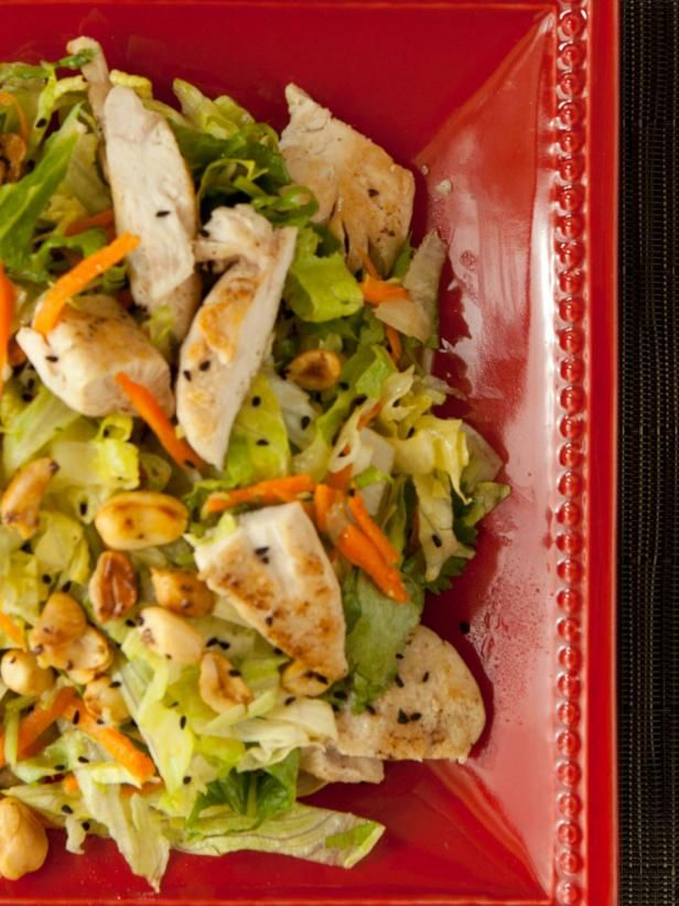 Chinese Chopped Chicken Salad with