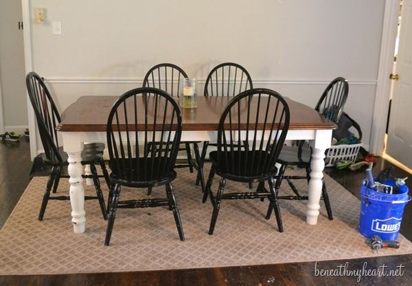 Diy Zinc Top Kitchen Table  Zinc Table Painting Dining Tables Enchanting Chalk Paint Dining Room Chairs Design Ideas