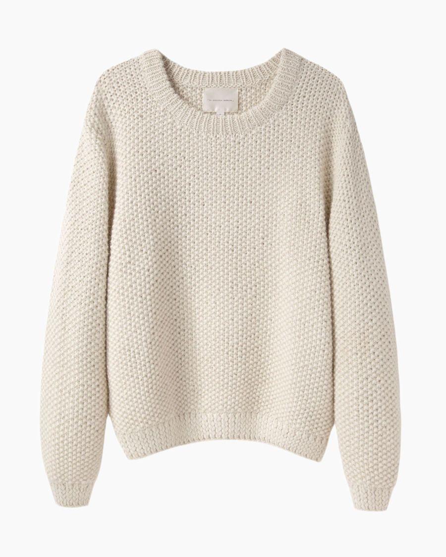 29d87accc30ca7 LA GARÇONNE MODERNE | Sylvia Alpaca Handknit Pullover | Shop @ La Garçonne
