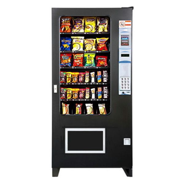 AMS 35 Sensit 4 Wide 32 Selection Snack Vending Machine