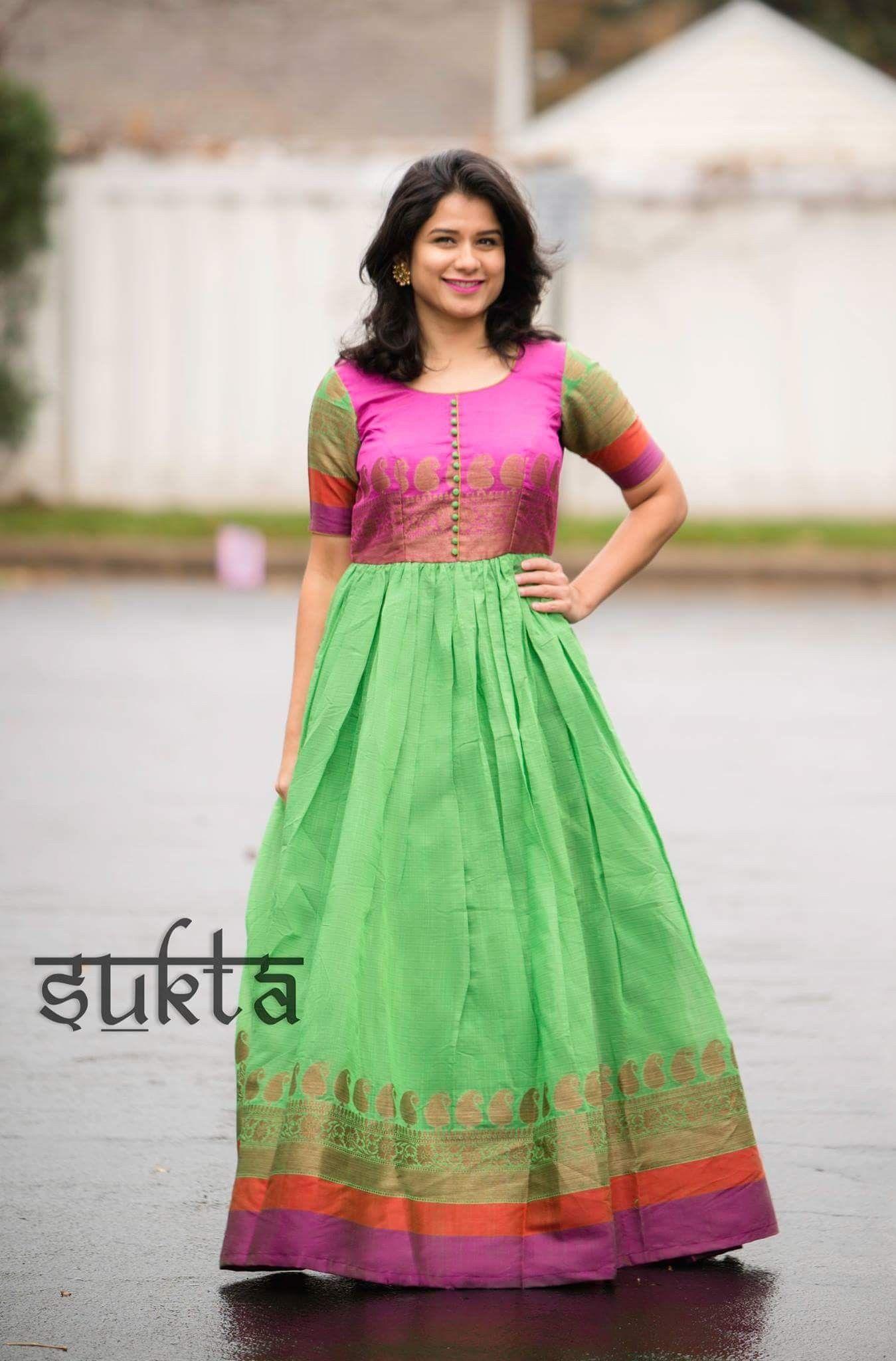 Dress designs #saridress