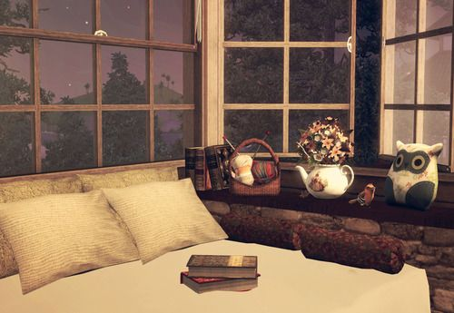 Cute interior made in the Sims 3 by a talented simmer
