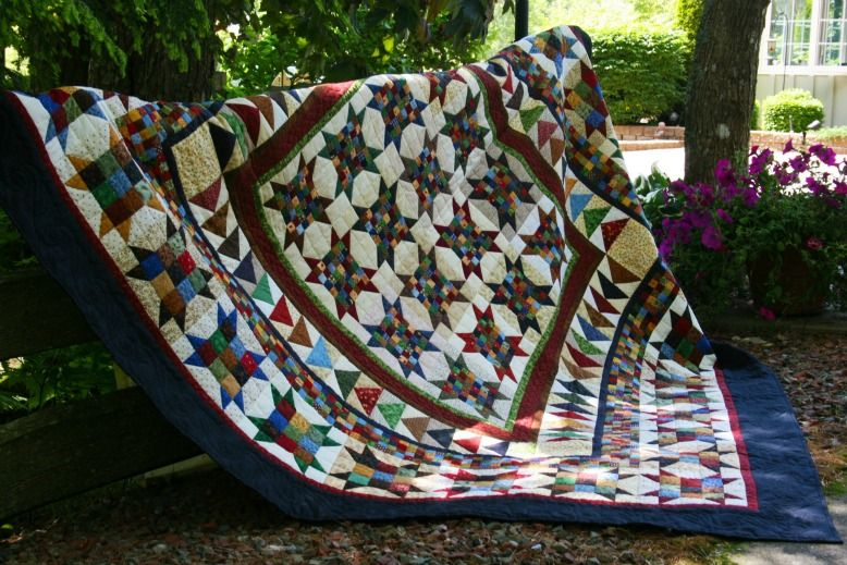 Quilts by Darlene: My Quilts at The Garden Path