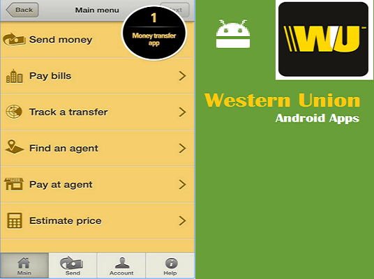 Western Union APK Android Mobile Apps France Android
