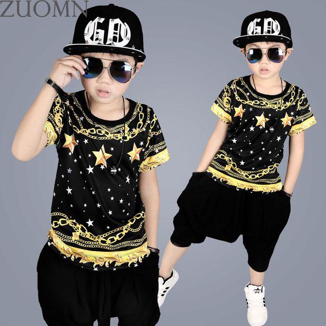 e01274c97 Retail Boys Clothing Sets Kids Girls Hip Hop Costume Kid Sport Suit ...