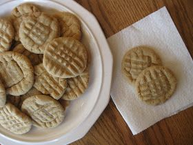 Craft, Bake, Sew, Create: Chewy Peanut Butter Cookies