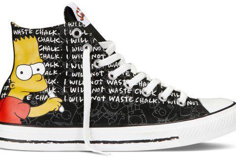 180a910a5cec Simpsons funny converse