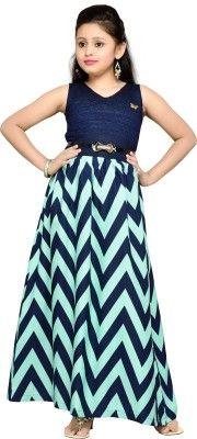 4b1de6aa931b Hunny Bunny Girl s Empire Waist Dress - Buy Navy Blue Hunny Bunny ...