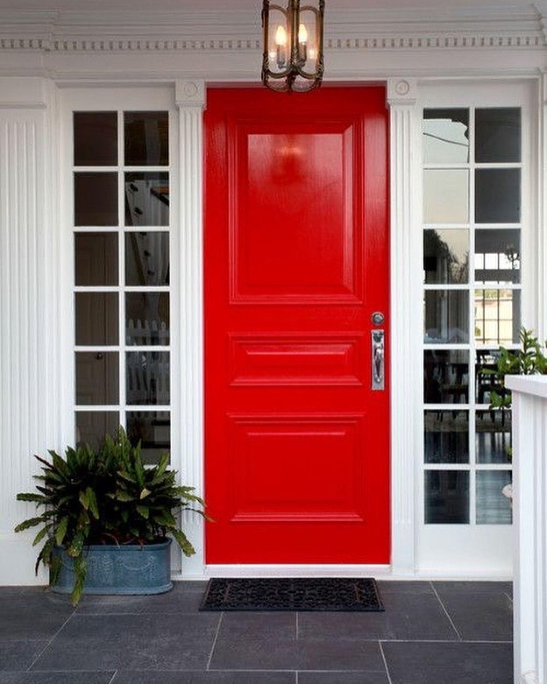 Pin Von Bijou Auf House Rote Tur Haus Hausturen Streichen Rote Haustur