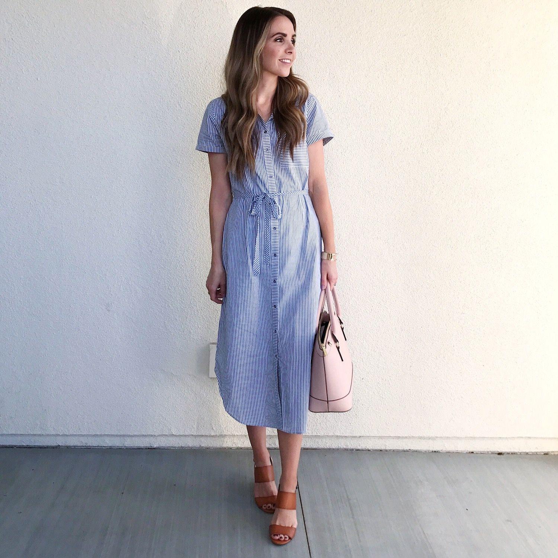 Flare dress summer