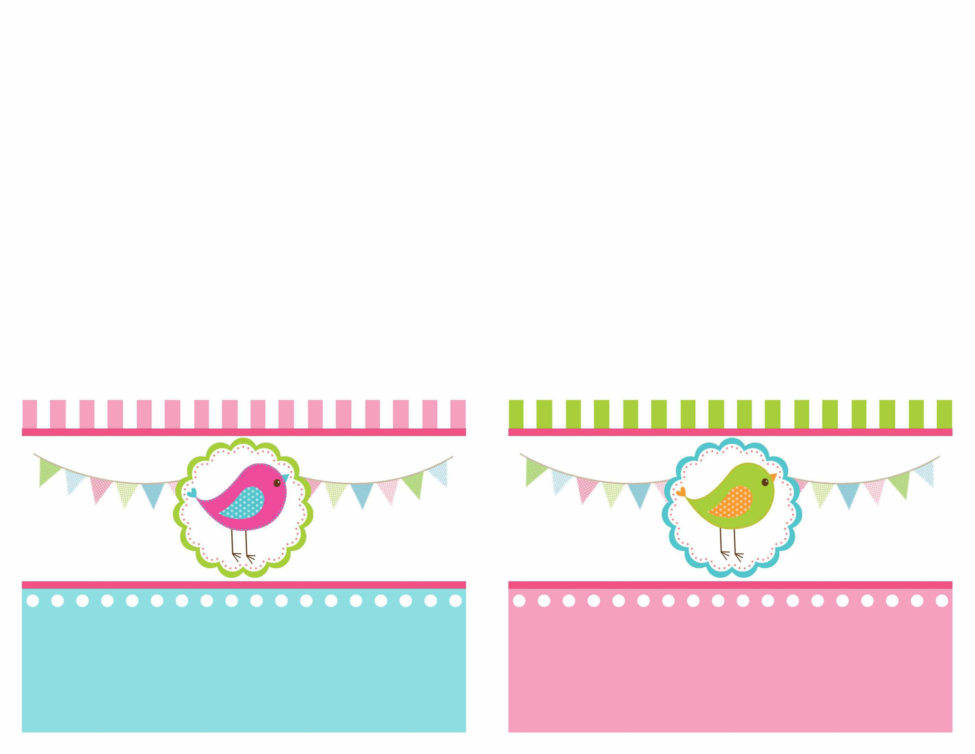 Bird Themed Birthday Party With FREE Printables Themed Birthday - Free printable hallmark birthday invitation cards