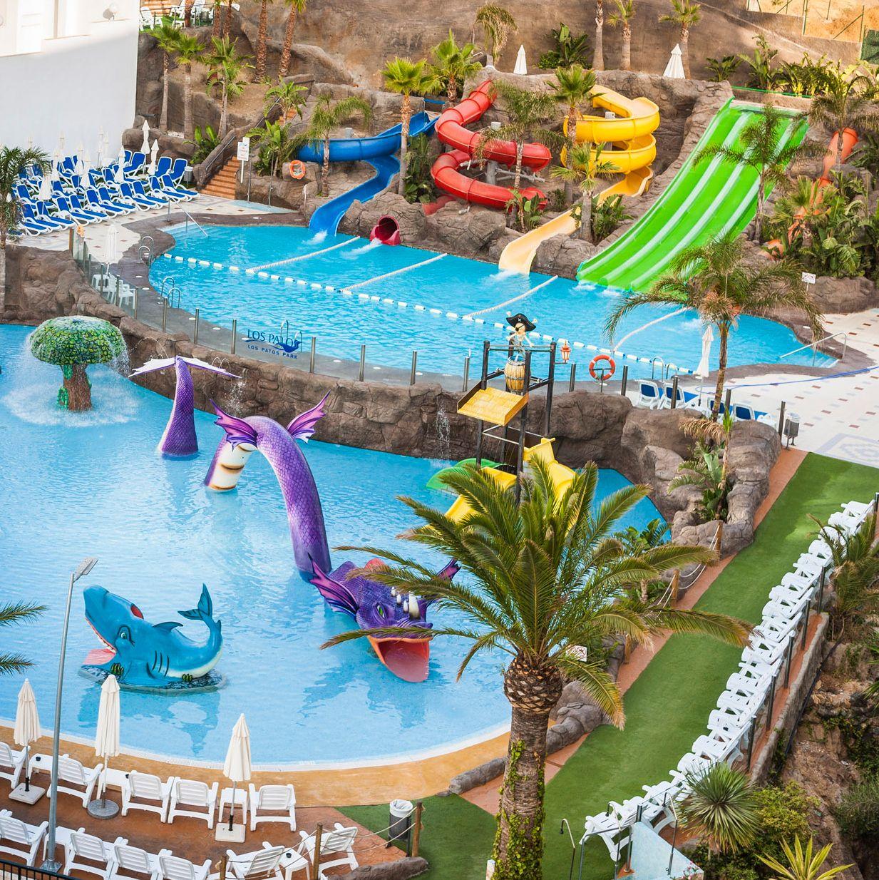 Globales Los Patos Park Nuestro Nuevo Hotel Con Parque Acuático Ya Disponible En Nuestra Web Globaleslospatosp Parque Acuatico Parques Lugares Exóticos