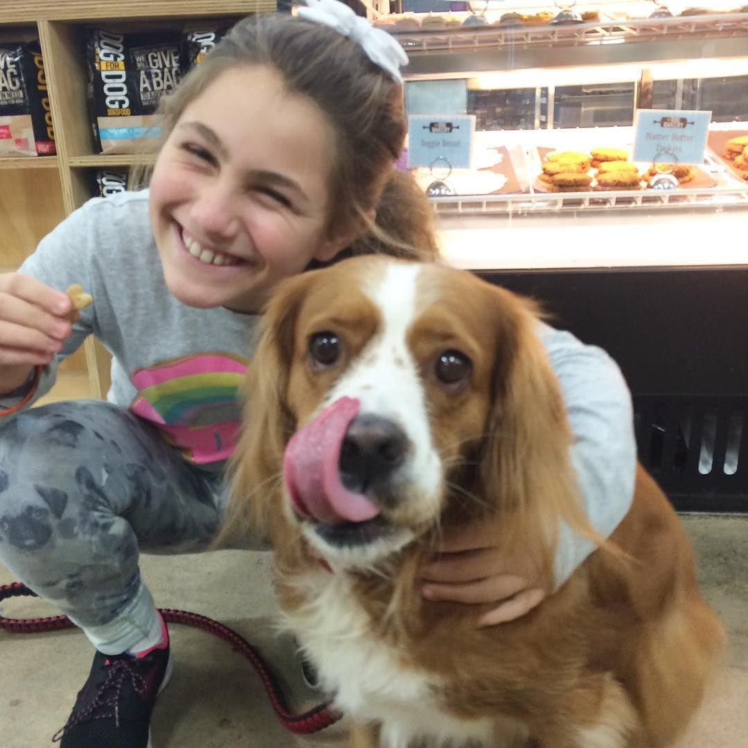 When your best friend treats you to a treat just because  #BFF #friyay #thedogbakery