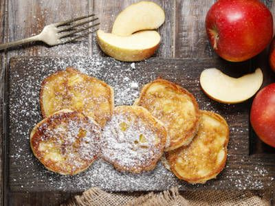 Thick Fresh Apple Pancakes http://breakfast.betterrecipes.com/thick-fresh-apple-pancakes.html