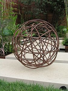 Decorative Sphere Garden Art Sculpture Garden Spheres