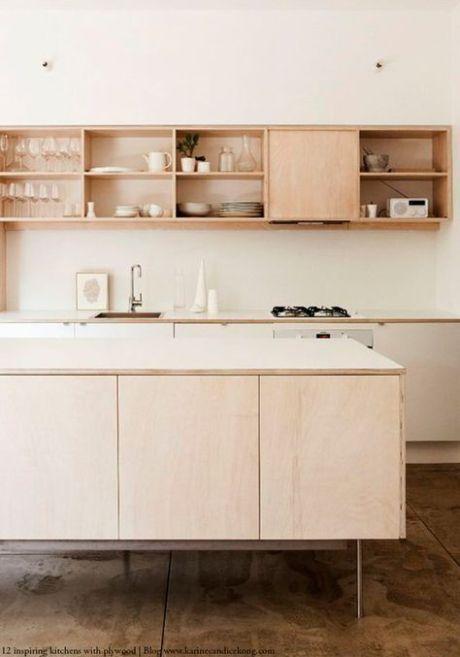 le contreplaqu un mat riau peu cher et design pour refaire sa cuisine kitchen plywood. Black Bedroom Furniture Sets. Home Design Ideas