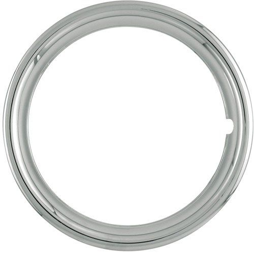Set Of 4 Chrome Plated Abs Plastic 14 Universal 1 75 Inch Beauty Trim Rings 14p To View Further For This Item Visit The Im Trim Ring Gm Car Chrome Plating