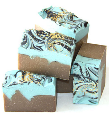 Lovely layered soap