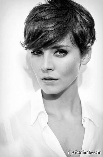 short, brown, pixie hair at Hipster Hair  Hairstyle Photo Search - peinados hipster