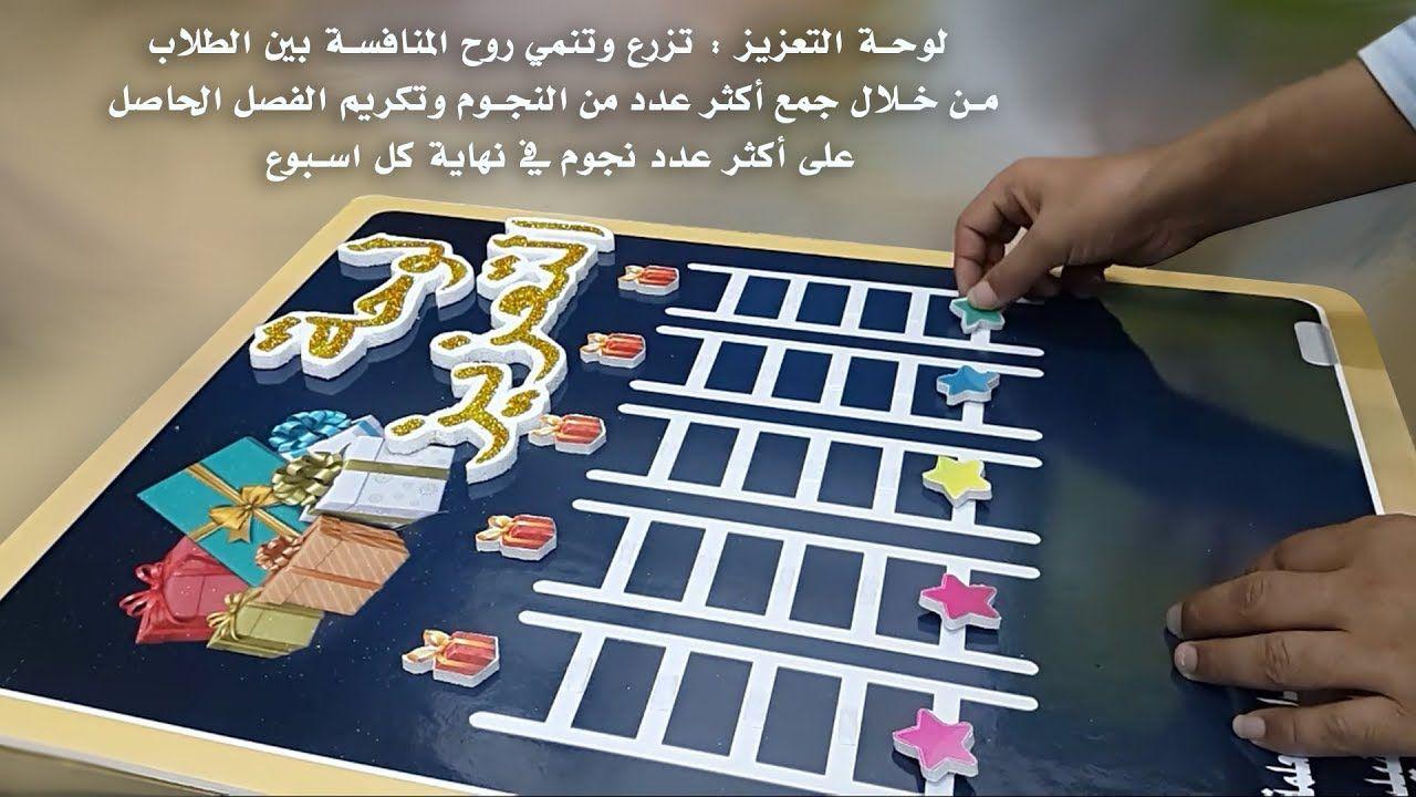 لوحة التعزيز Preschool Classroom Decor School Template Kids Education