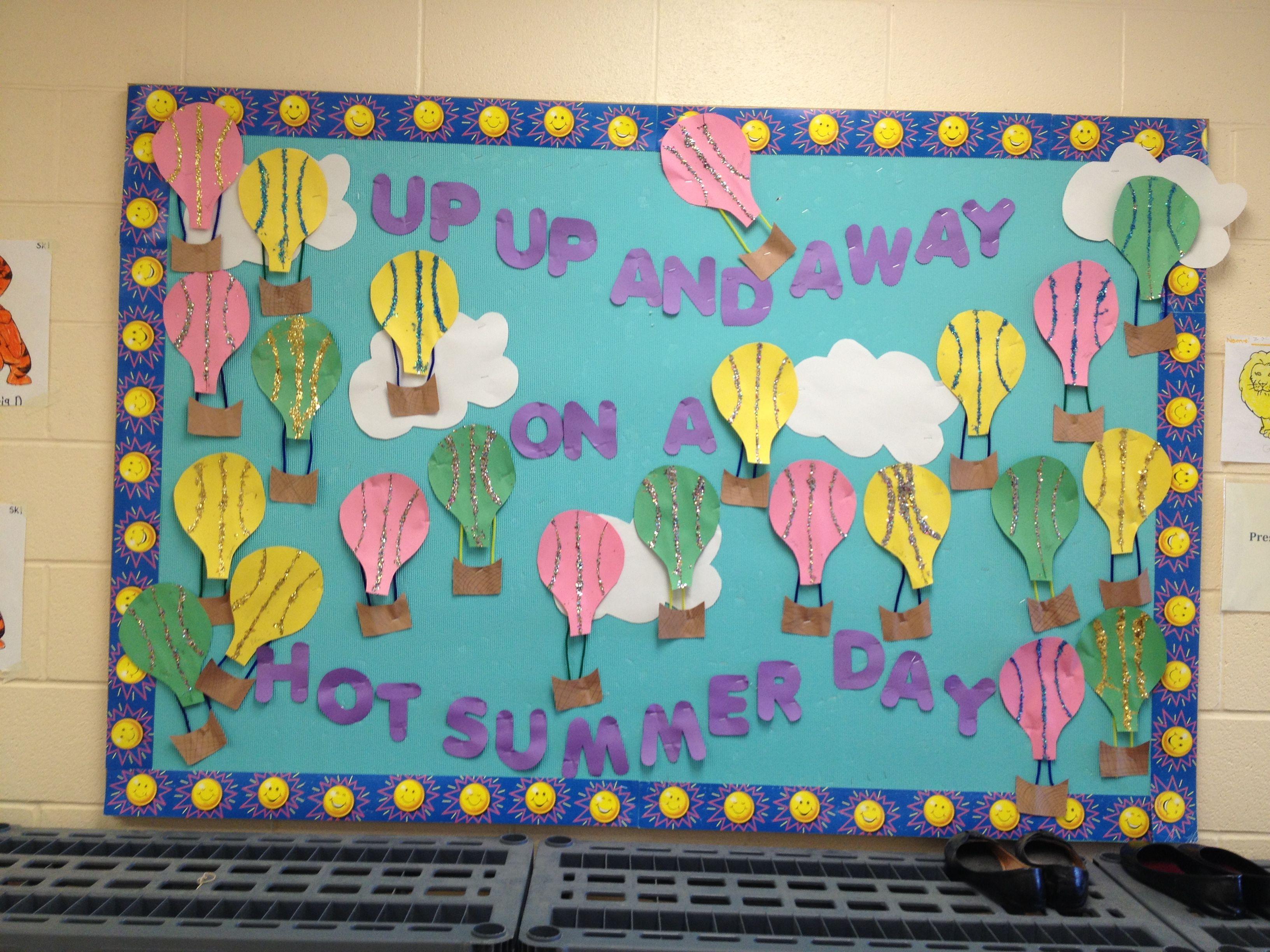 Summer Bulletin Board Toddler Room