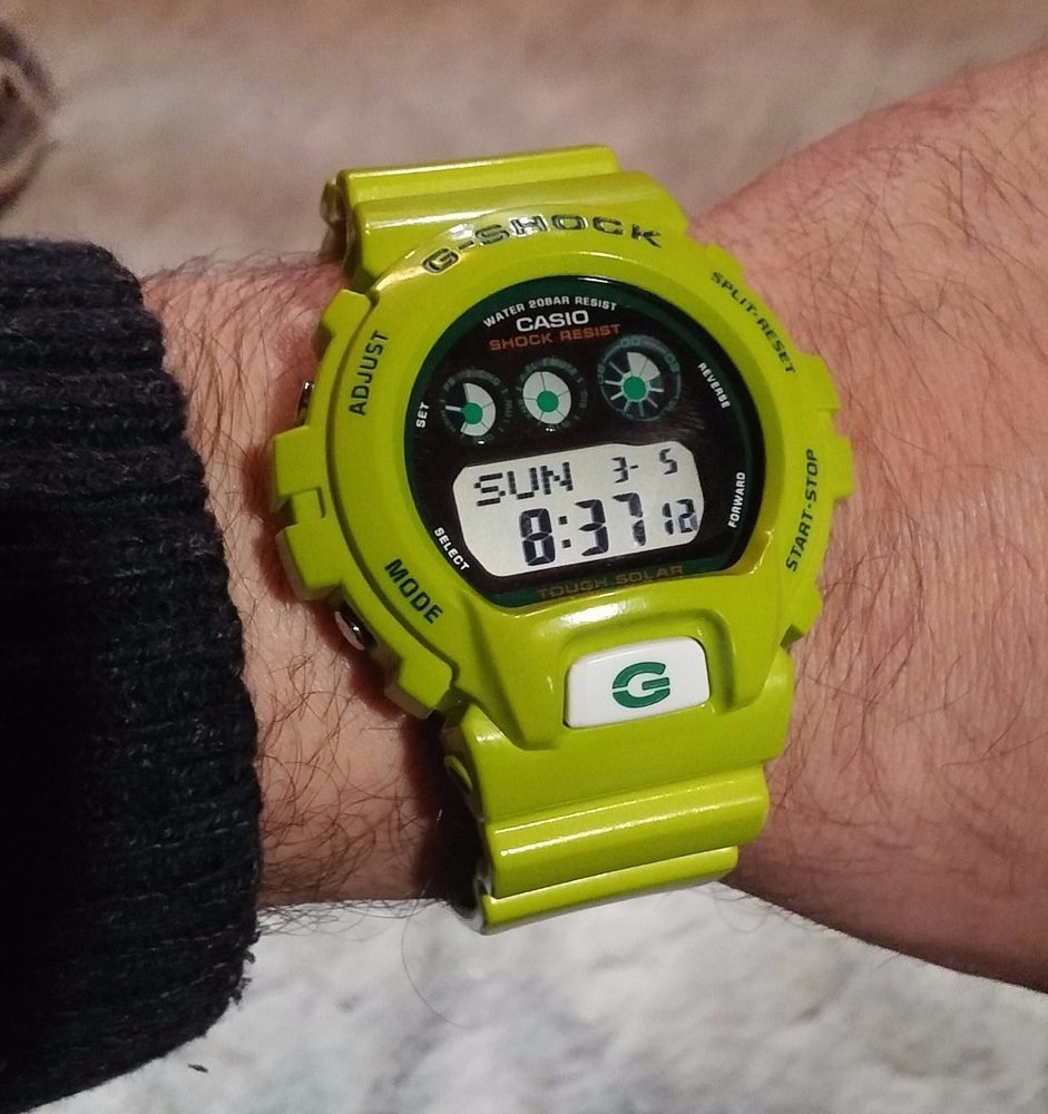 Casio G Shock Green Collection 6900gr 3 Kermit Ltd Ed Lime Jam Tangan Gshock Original Gd 400 4dr Rare Sport