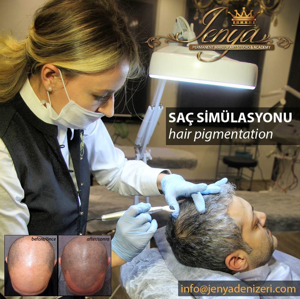 Saç Simülasyonu (SCALP,Hair Tattoo) Eğitim ve Uygulama