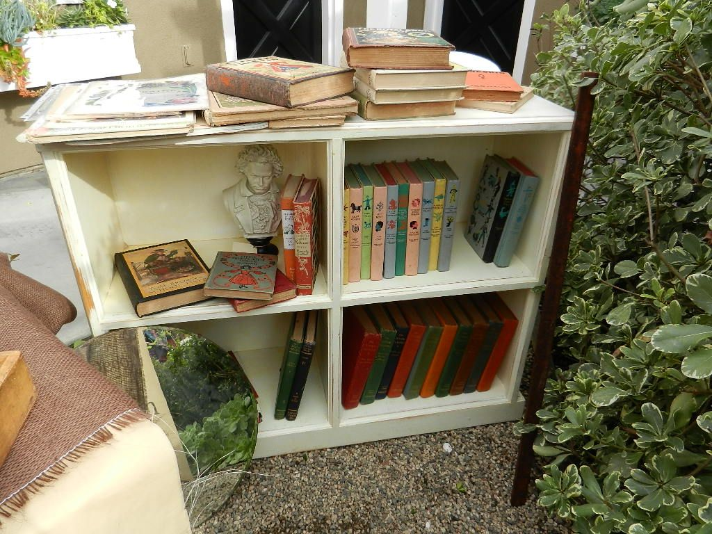Before: Low Bookcase