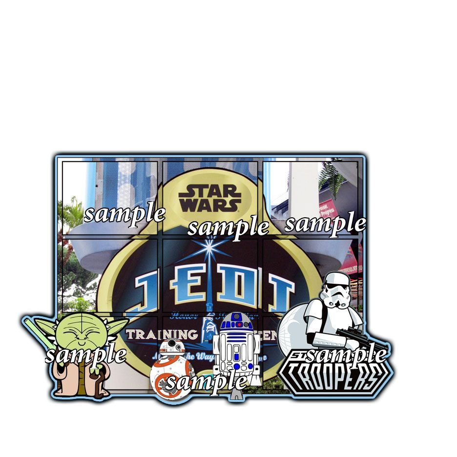 How to add scrapbook pages - On Sale Now Disney Jedi Training Academy Gtss Add On Scrapbook Page Paper Piece Die