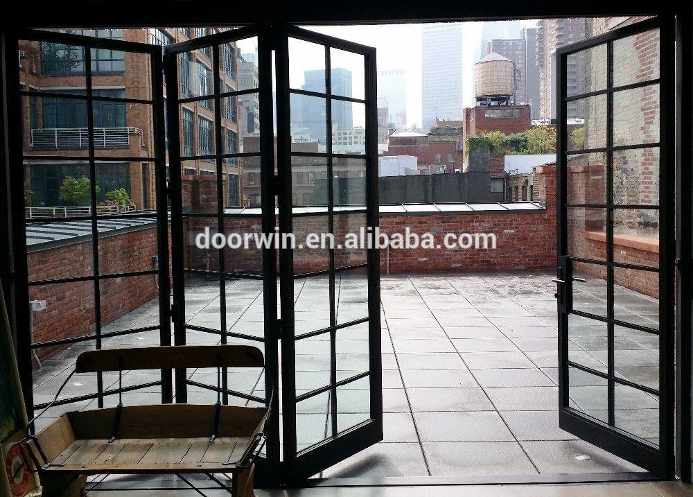 Aluminium sliding door garden folding grill door buy for Folding window