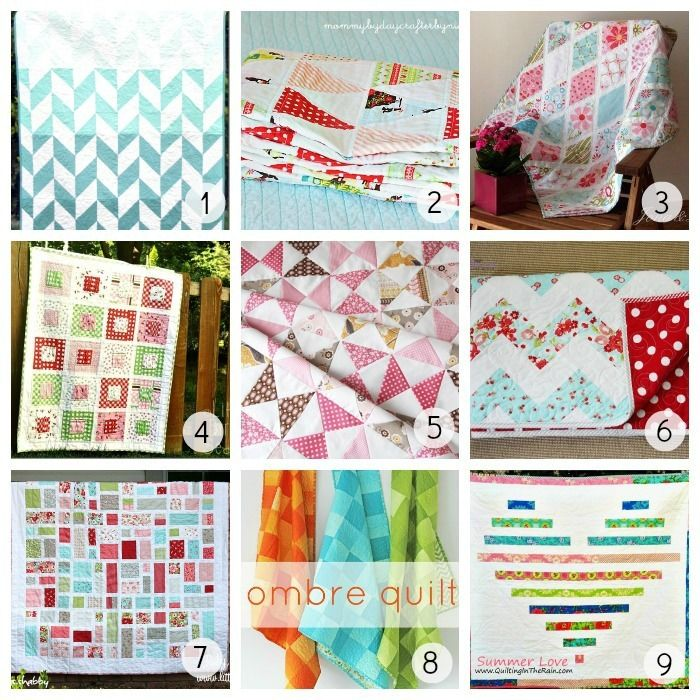This is the mother-load of free quilt patterns. Score!!! 36 Gorgeous Free Quilt Patterns www.u-createcrafts.com