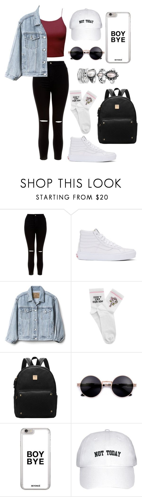 """#14"" by mylanelle ❤ liked on Polyvore featuring New Look, Vans, Gap and Yeah Bunny"