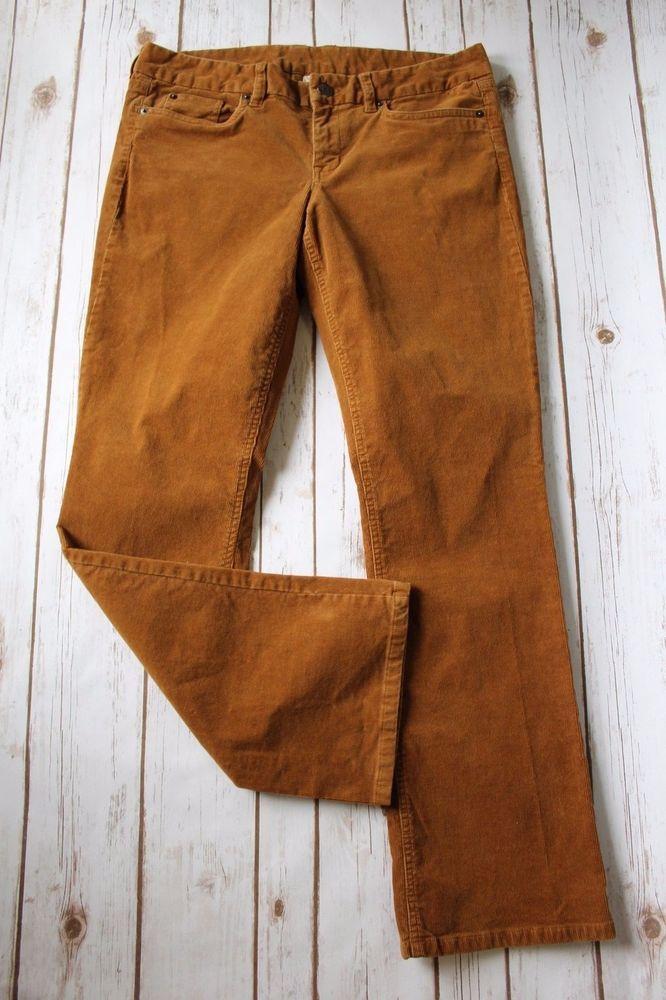 a899f0b8c04 J Crew Corduroy Pants Women 31 S Favorite Fit Cord Golden Brown 31