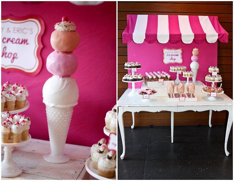 giant ice cream cone...