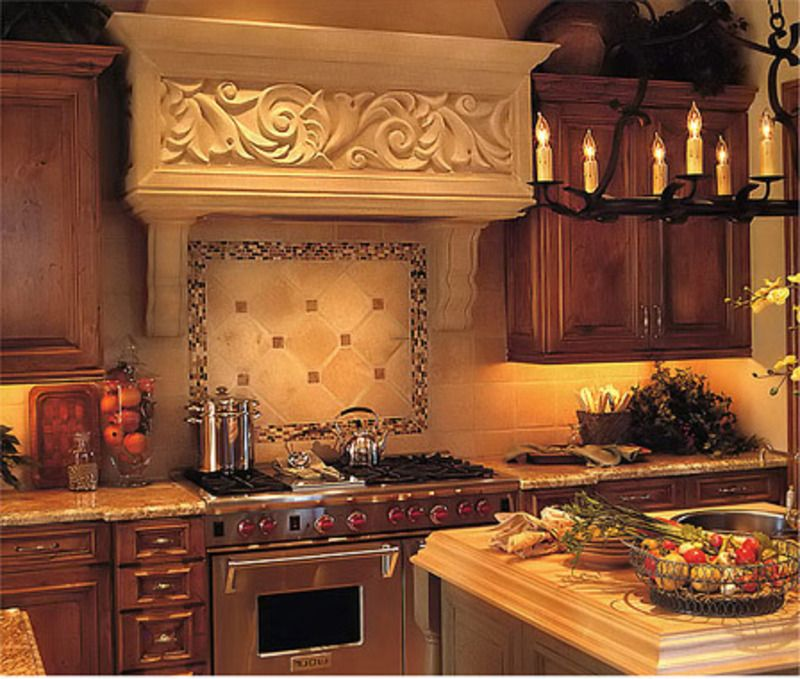 Glass Mosaic Tile Kitchen Backsplash Ideas: 20 Inspiring Kitchen Backsplash Ideas And Pictures