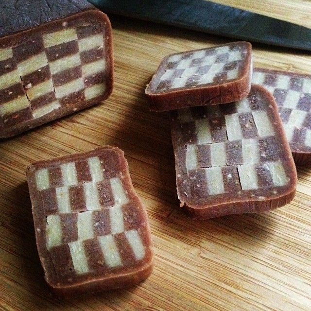 Hazelnut Checkerboard Cookies Recipe From Joy Of Baking Icebox
