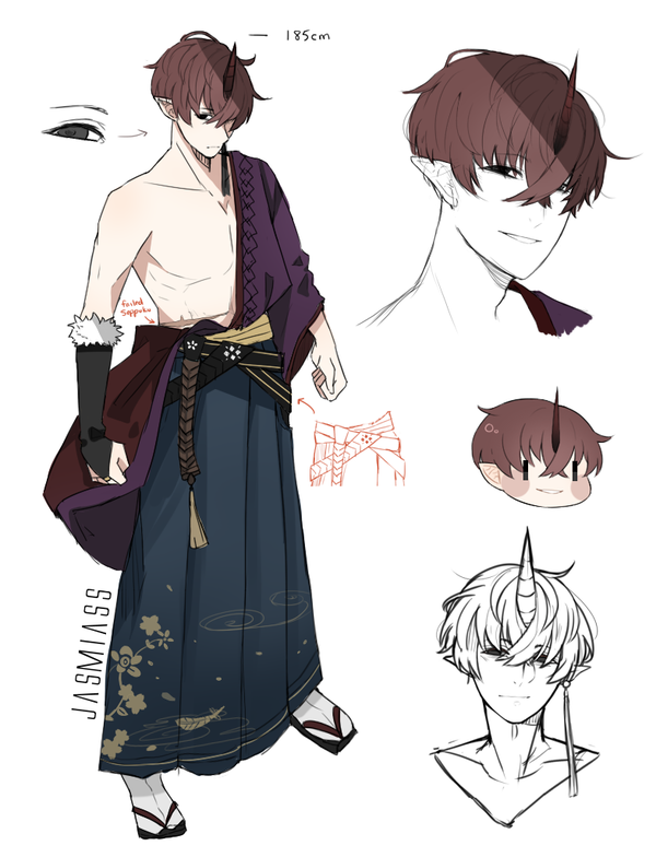 Akki Reference Sheet New Oc By Jasmiass Character Design Inspiration Character Design Concept Art Characters