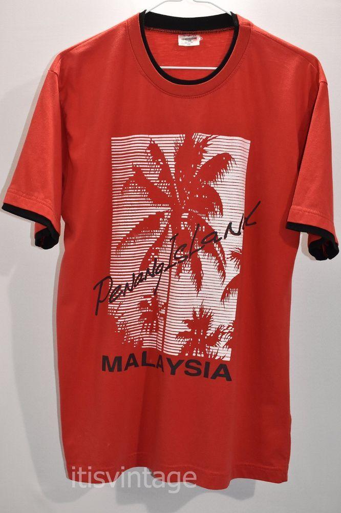 b4c1e57a Vintage Screen Star Club Penang Island Malaysia Souvenir Cotton T Shirt  Medium | Clothing, Shoes & Accessories, Men's Clothing, T-Shirts | eBay!