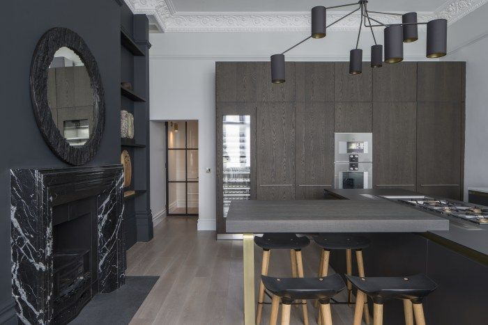 Belsize Park Home Tour With Dark And Sophisticated Interiors Perfect For Entertaining On NONAGON