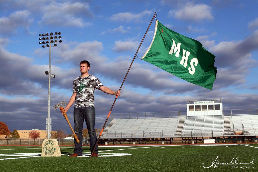{Mulvane Senior Photography} Jordan  | #SeniorPortraits #WichitaKS #SportsSeniorPortraits