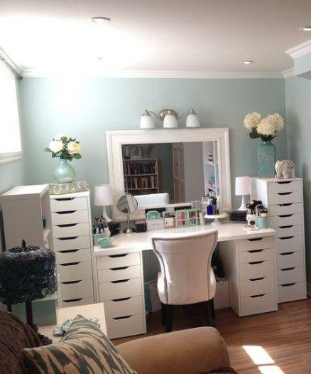 45 Ideas Diy Bedroom Vanity Make Up Dressing Tables images