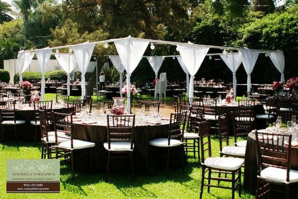 Inexpensive Backyard Weddings Cheap Outdoor Wedding Ideas Decorations