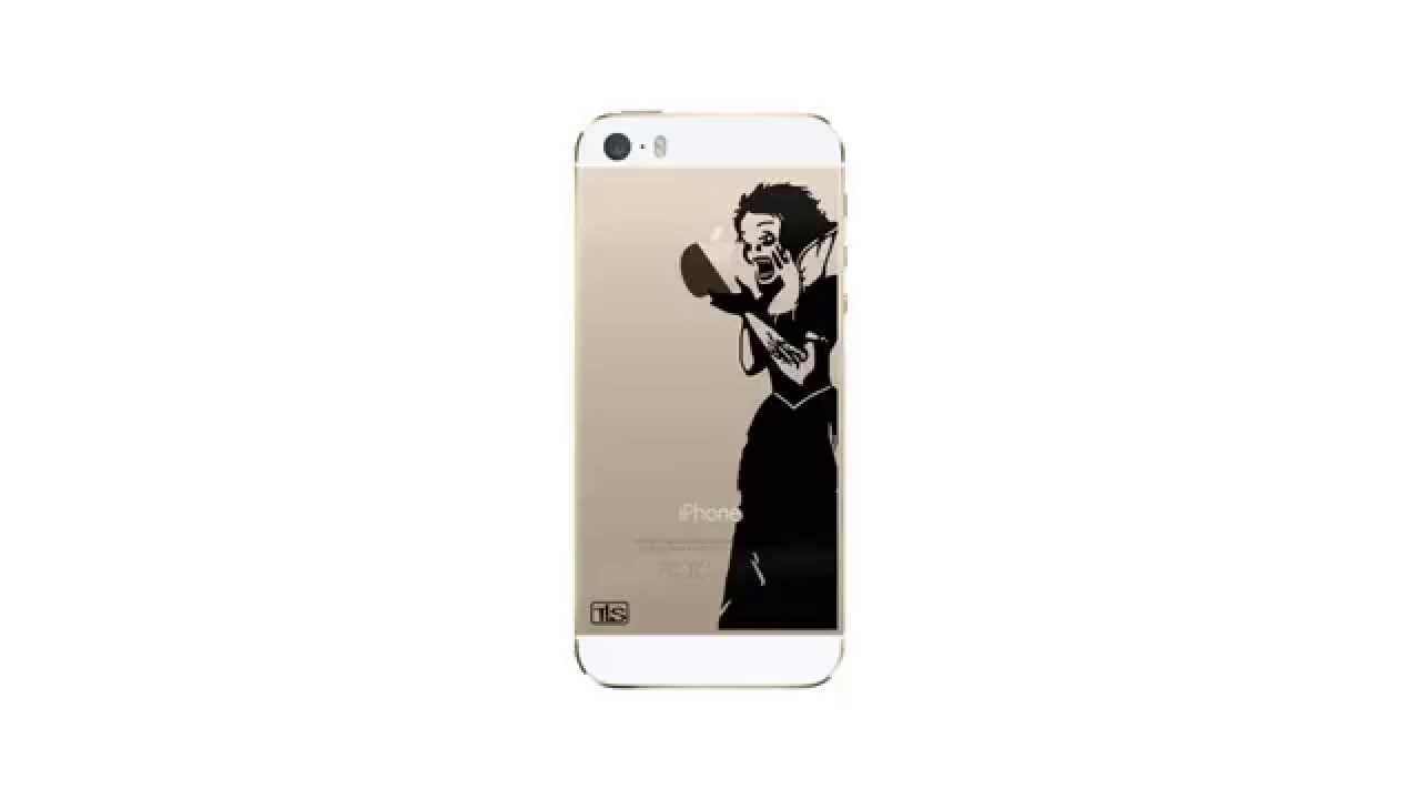 Custom iphone stickers for iphone 5 5s iphone 6 and iphone 6 plus www thoselittlestickers com