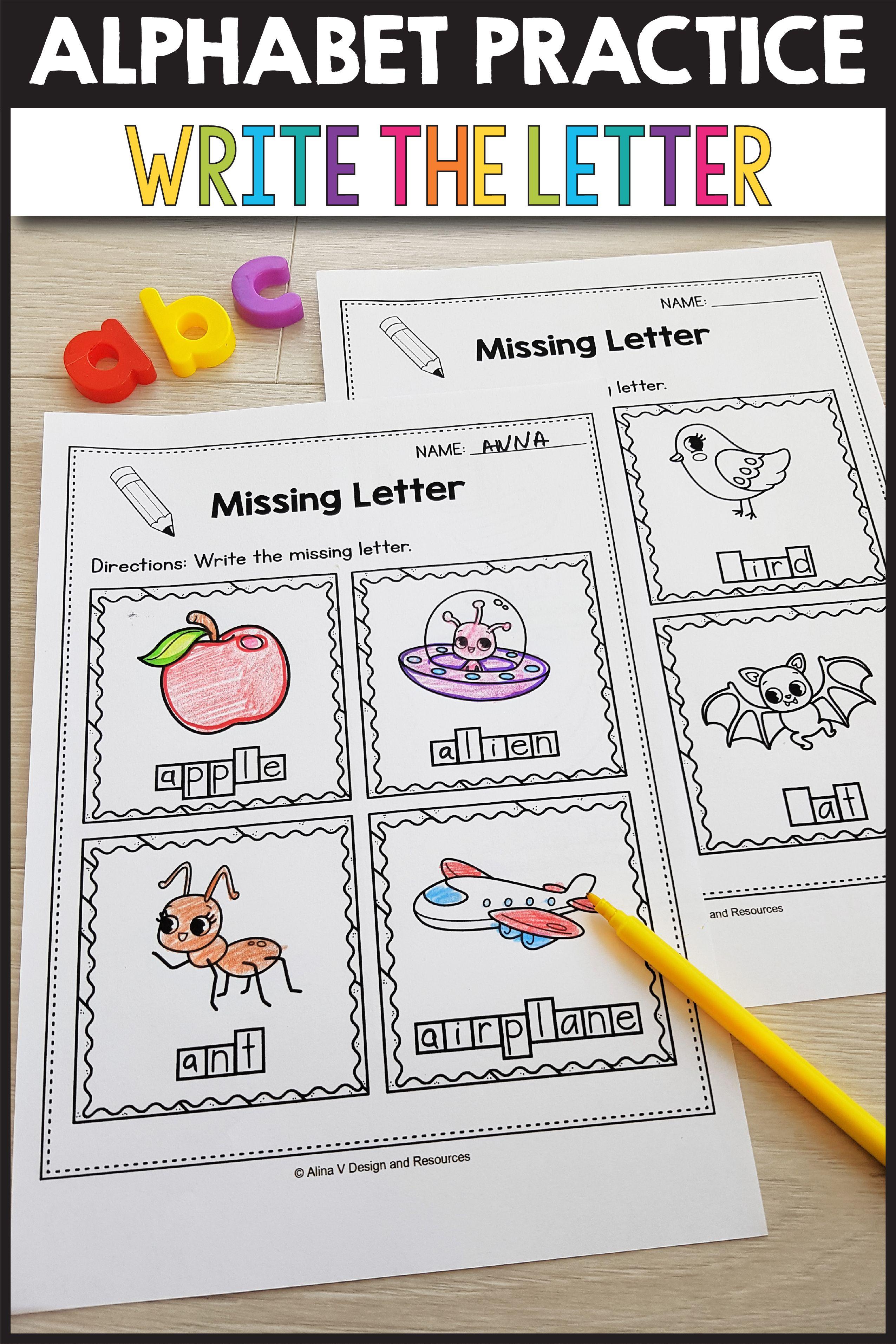 Beginning Sounds Worksheets For Kindergarten Alphabet