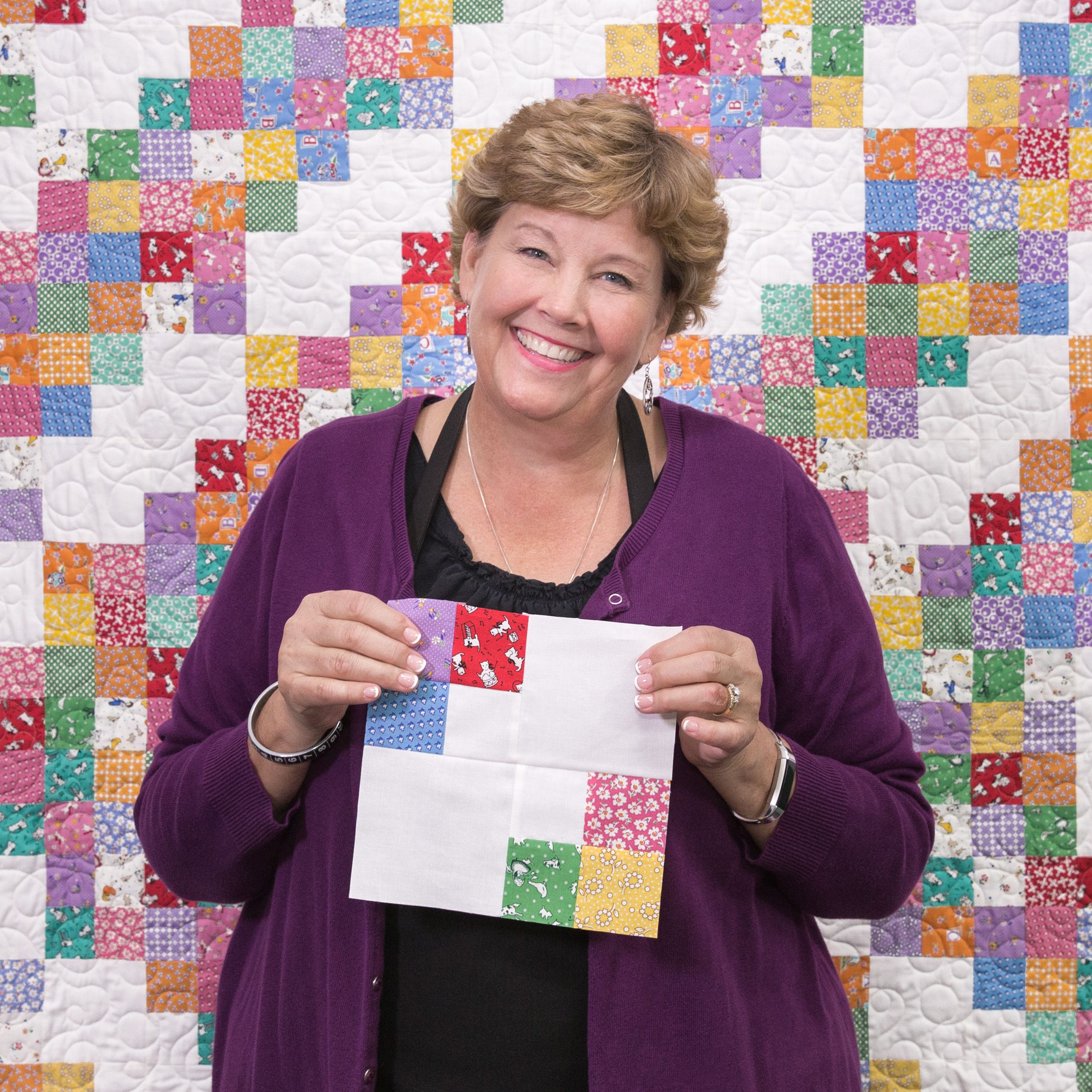 Make a 4x4 quilt with jenny missouri star quilt company tutorials make a 4x4 quilt with jenny baditri Images