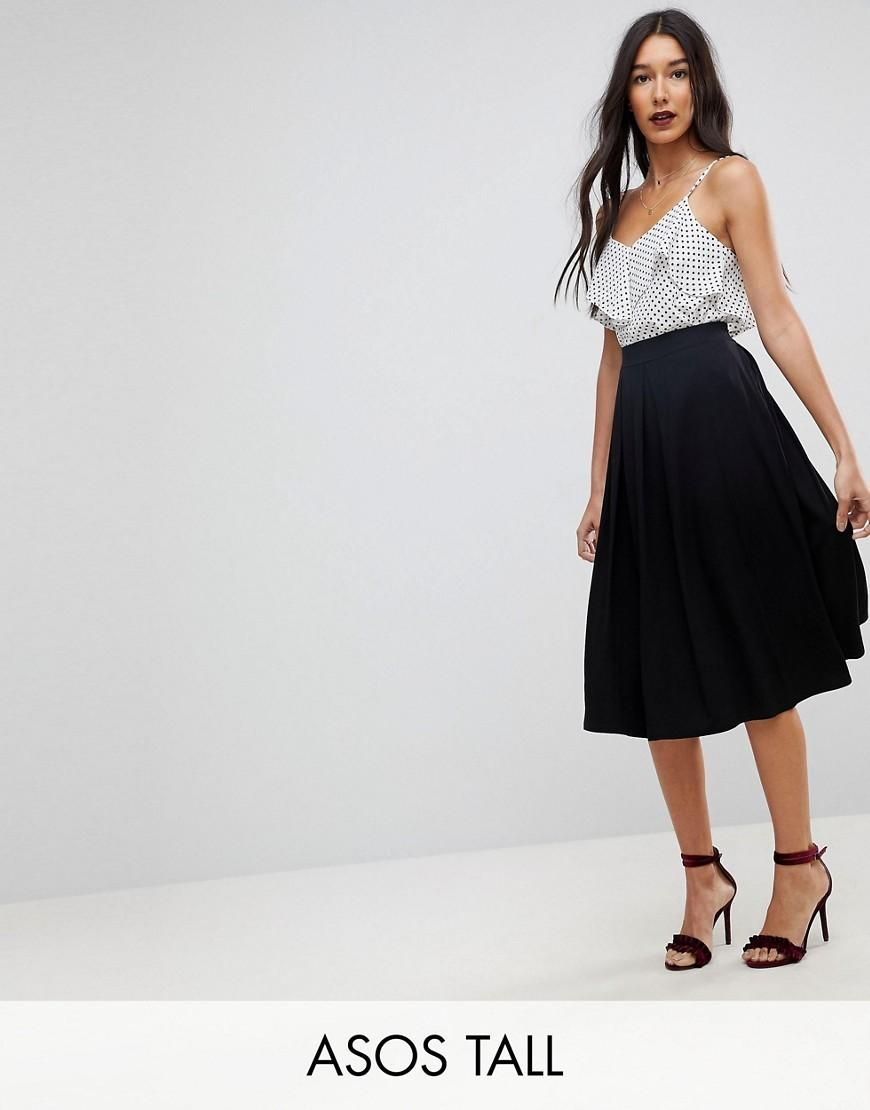 3a9757571236 Asos Midi Skirt With Box Pleats – DACC